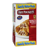 Hot Pockets Meatballs & Mozzarella Sandwiches- 12 CT