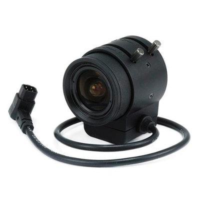 Monoprice 1/3 Inch 3-9mm IR F1.2 Varifocal DC Iris CS Mount Lens W/IR Correction