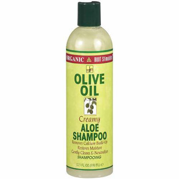 Organic Root Stimulator Olive Oil Creamy Aloe Shampoo Hair Care
