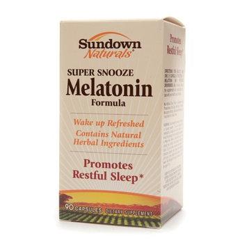 Sundown Naturals Super Snooze Melatonin Formula