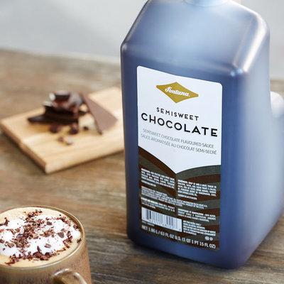 Fontana 63-oz. Semi-Sweet Chocolate Sauce