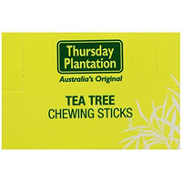 Nature's Plus Thursday Plantation Tea Tree Chewing Sticks -- 600 Toothpicks