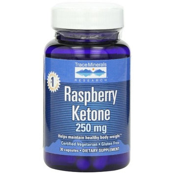 Trace Minerals Research Raspberry Ketone 250 mg - 30 Capsule
