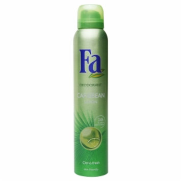 Fa Deodorant Spray 24 Hour, Caribbean Lemon, 6.75 fl oz