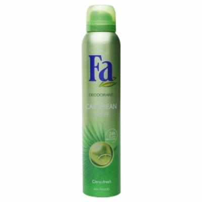 Fa Deodorant Spray 24 Hour, Caribbean Lemon, 6.75 fl oz