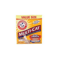 CHURCH & DWIGHT Church & Dwight Co Inc-Arm & Hammer Multi-cat Litter 26. 3 Pound