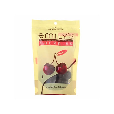 Emily's Chocolates Dark Chocolate Covered Whole Dried Fruit