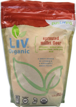 Pure Living Liv Organic Sprouted Millet Flour 24 oz