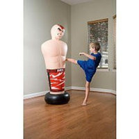 Pure Boxing Inflatable Cage Fighter for Extreme Punching & Kicking, over 5 ft Tall