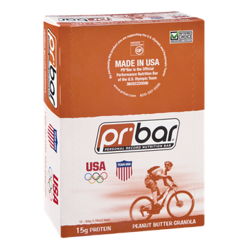 PR Personal Record Nutritional Bar Peant Butter Granola - 12 Bars