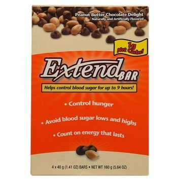 Extend Bar Snack Bars 4 Pack
