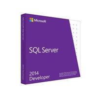 SQL Server Developer Edition 2014 English US Only DVD 1 Clt