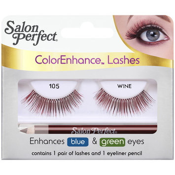 Salon Perfect ColorEnhance Lashes, 105 Wine, 2 pc