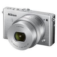 Nikon J4 18.4 MP Digital Camera with NIKKOR 10-30mm Lens - Silver