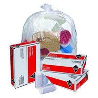 TOUGH GUY 4KN32 Trash Bags,33 gal,12 micron, PK250