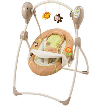 Summer Infant Swingin' Safari Sweet Sleep Musical Swing, Tan, 1 ea
