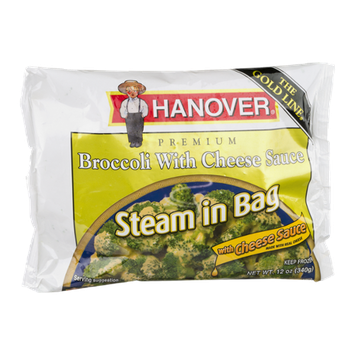 Hanover Steam in Bag Broccoli With Cheese Sauce
