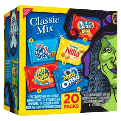 NABISCO Classic Mix Cookies and Crackers Variety 20 pk