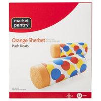 market pantry Market Pantry Orange Sherbet Push Pop 12 pack