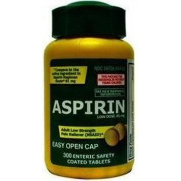 Low Dose Aspirin 81mg PL Developments 300 Tabs