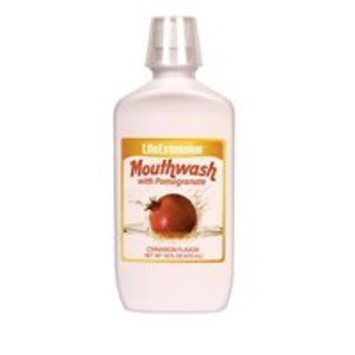 Life Extension Mouthwash with Pomegranate