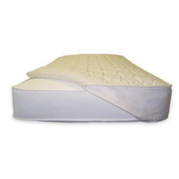 Naturepedic Quilted Mattress Topper - Crib Fitted