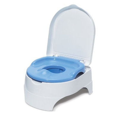 Summer Infant All-in-One Potty Seat and Step Stool, Blue (Discontinued by Manufacturer)
