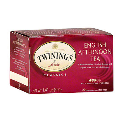 Twinings Of London English Afternoon Tea Bags