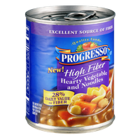 Progresso High Fiber Hearty Vegetable and Noodles Soup
