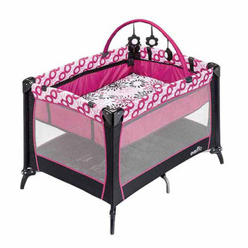 Evenflo Portable BabySuite Select, Carolina Pink