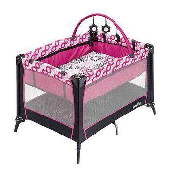 Evenflo Portable BabySuite Select, Carolina Pink