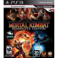 Warner Bros. Interactive Mortal Kombat: Komplete Edition (PlayStation 3)