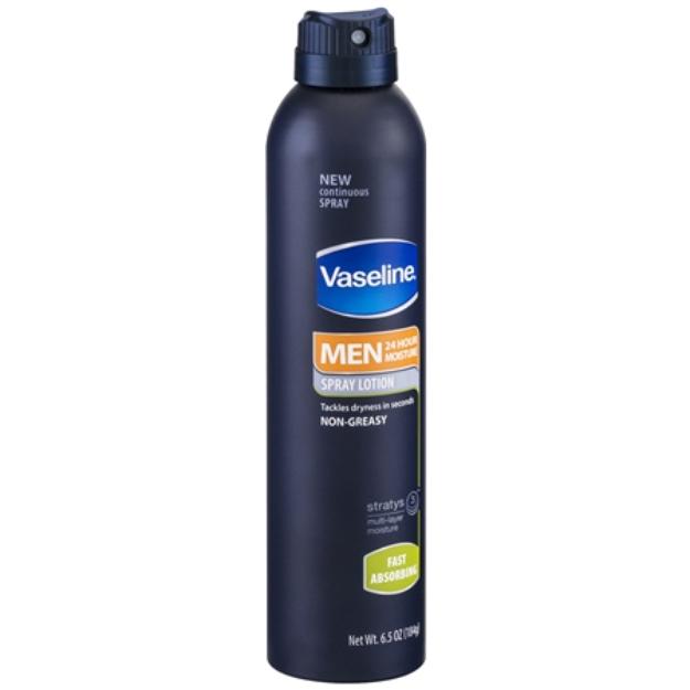 Vaseline® Men Spray Lotion Fast Absorbing