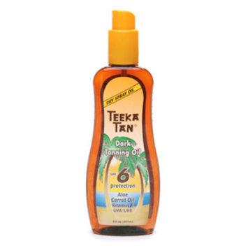 Teeka Tan Dark Tanning Oil SPF 6