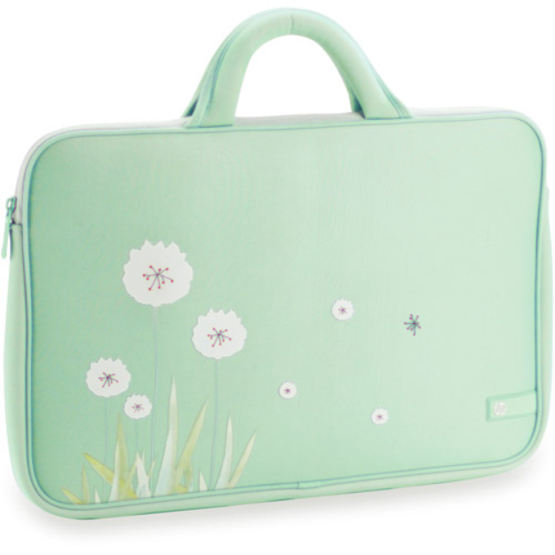 HP Laptop Sleeve, Dandelion Breeze