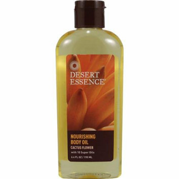 Desert Essence Nourishing Body Oil Cactus Flower 6.4 fl oz