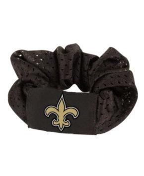 Football Fanatics Caseys 8669910005 New Orleans Saints Hair Twist Ponytail Holder