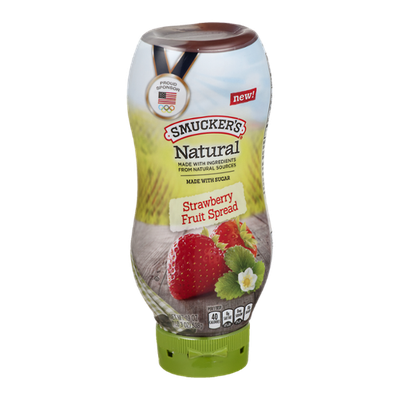 Smucker's Natural Strawberry Fruit Spread