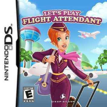 Deep Silver Let's Play Flight Attendant (Nintendo DS)