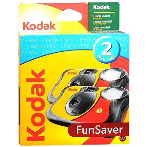 Kodak Fun Saver Single Use Camera 2 Pack