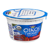 Stonyfield Organic Oikos Greek Lowfat Yogurt Strawberry on the Bottom