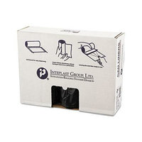 Inteplast Group High Density Can Liner 43 x 48 16 Mic Black