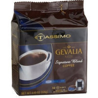 Gevalia Signature Blend Coffee, 16-Count T-Discs for Tassimo Professional (Foodservice) Coffeemakers (Pack of 5)