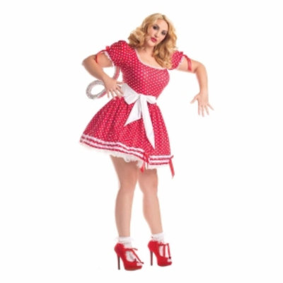 Party King Wind Up Doll - Womens Plus Size Costume