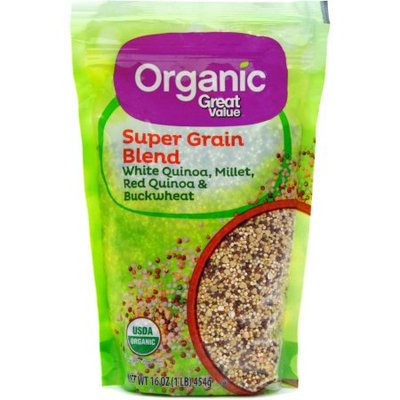 Generic Organic Great Value Super Grain Blend, 16 oz