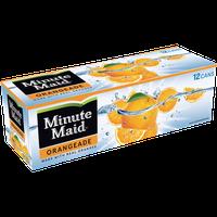 Minute Maid 12 Oz Fridge Pack Fruit Drink Orangeade 12 Pk