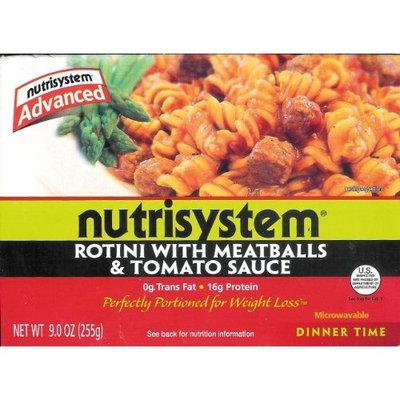 NutriSystem Advanced Rotini with Meatballs & Tomato Sauce
