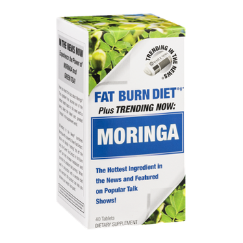 Moringa Fat Burn Diet Dietary Supplement Tablets