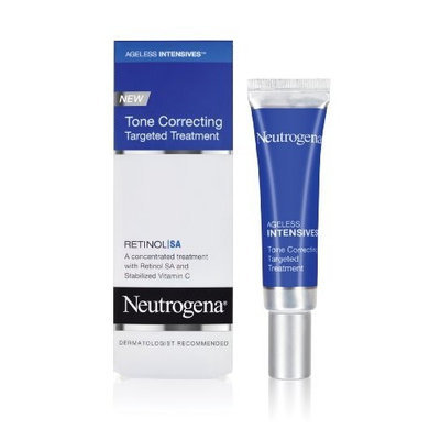Neutrogena Ageless Intensives Tone Correcting Targeted Treatment, 0.5 Ounce