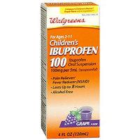 Walgreens Children's Ibuprofen 100 Oral Suspension